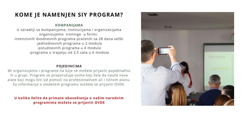 SIY program